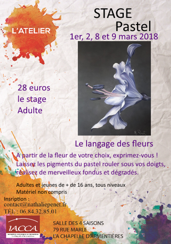 Atelier peinture iacca for Langage des fleurs